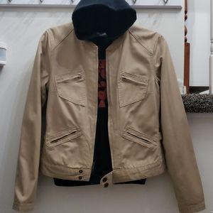 Juniors SO Brand Tan Utility Jacket